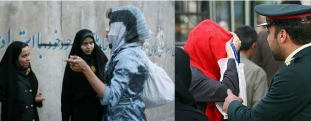 Ongelijkheid van vrouwen is in Iran stevig verankerd in de wet. Hun getuigenis telt half zoveel als die van een man. Bij overspel kunnen zij de doodstraf krijgen door steniging. Op het dragen kleding die niet aan de Islamitische voorschriften voldoet, kan tot 2 maanden cel of een boete van 500.000 Rials – 39 Euro gegeven worden.